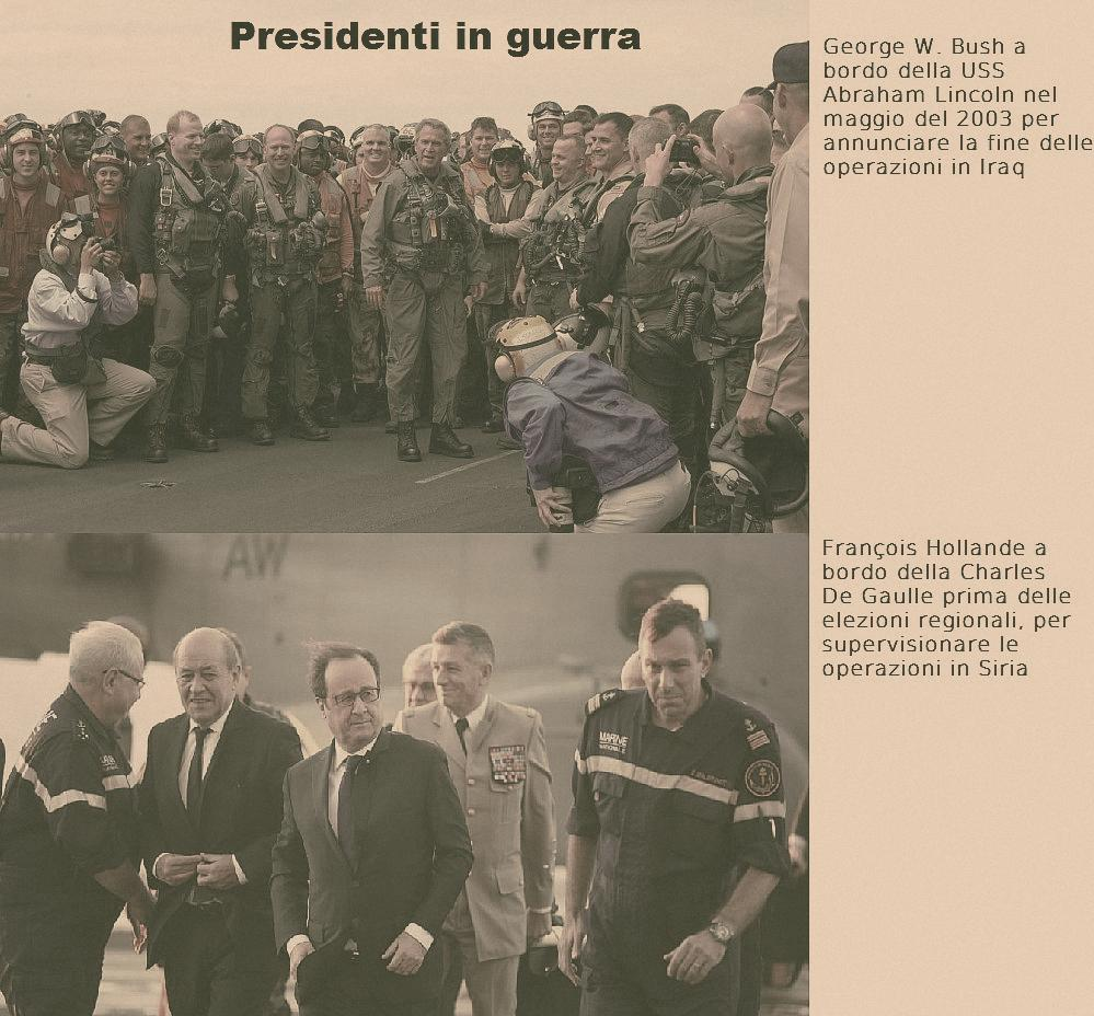 presidenti in guerra