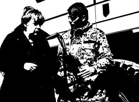 Verso la battaglia di Berlino: Angela Merkel nel bunker