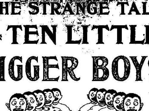 Come la strana storia dei dieci piccoli indiani…