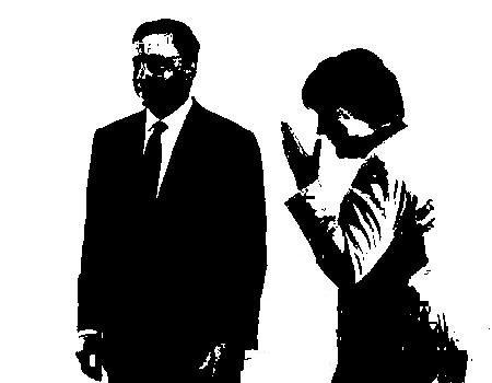 E ne rimasero due: Angela Merkel e Mario Draghi